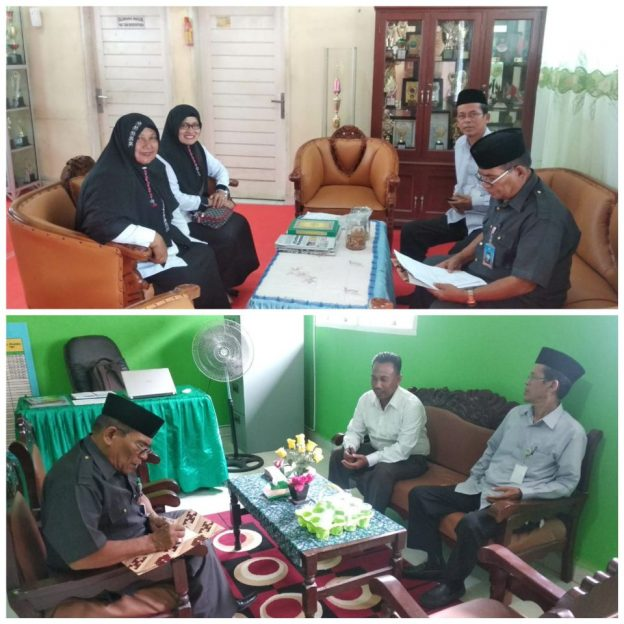 Supervisi di MIN dan MTs Islamic Center.
